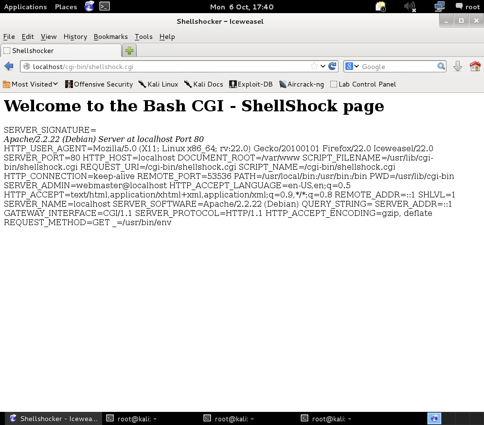 Exploiting the Shellshock bug – Rethink Testing